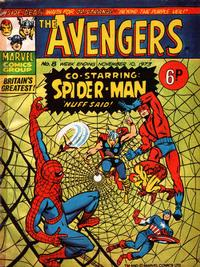 Cover Thumbnail for The Avengers (Marvel UK, 1973 series) #8