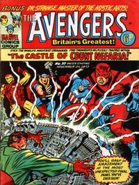 Cover Thumbnail for The Avengers (Marvel UK, 1973 series) #10