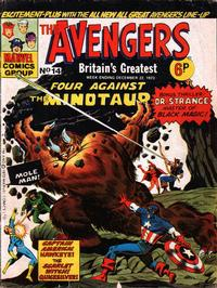Cover Thumbnail for The Avengers (Marvel UK, 1973 series) #14