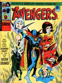 Cover Thumbnail for The Avengers (Marvel UK, 1973 series) #91