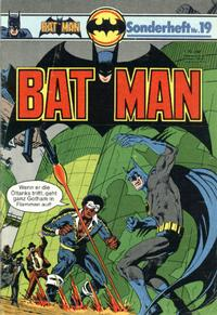 Cover Thumbnail for Batman Sonderheft (Egmont Ehapa, 1976 series) #19