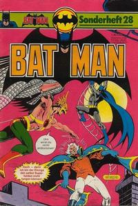 Cover for Batman Sonderheft (1976 series) #28