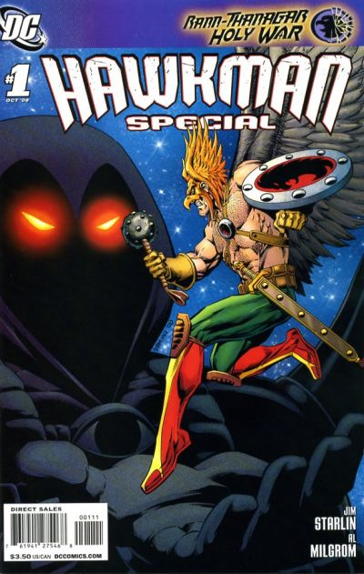 Cover for Hawkman Special (DC, 2008 series) #1