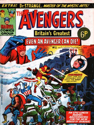 Cover for The Avengers (Marvel UK, 1973 series) #11