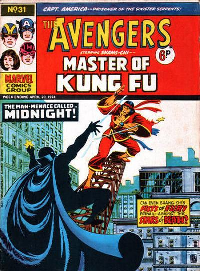 Cover for The Avengers (Marvel UK, 1973 series) #31