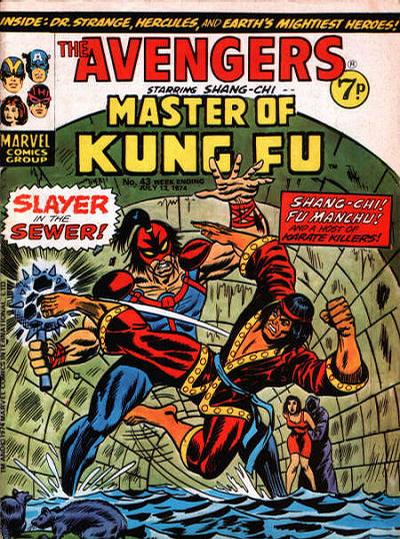 Cover for The Avengers (Marvel UK, 1973 series) #43