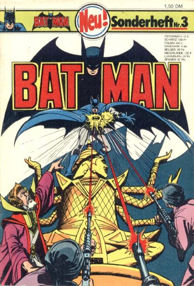 Cover for Batman Sonderheft (1976 series) #3
