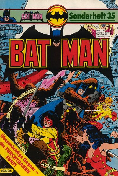 Cover for Batman Sonderheft (1976 series) #35