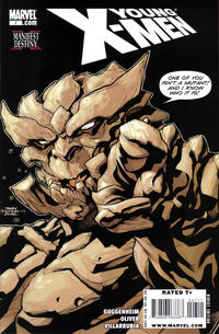 Cover Thumbnail for Young X-Men (Marvel, 2008 series) #7