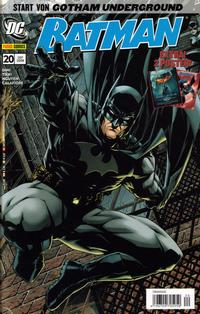 Cover Thumbnail for Batman (Panini Deutschland, 2007 series) #20