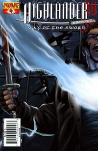 Cover Thumbnail for Highlander: Way of the Sword (Dynamite Entertainment, 2007 series) #4