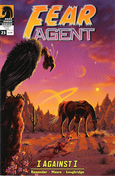 Cover for Fear Agent (2007 series) #23