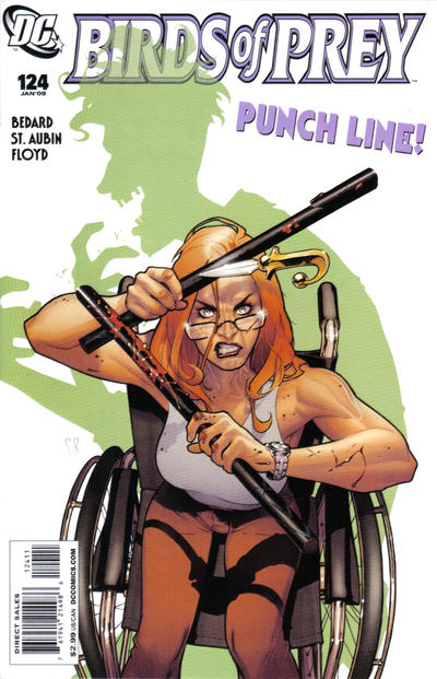 Cover for Birds of Prey (1999 series) #124