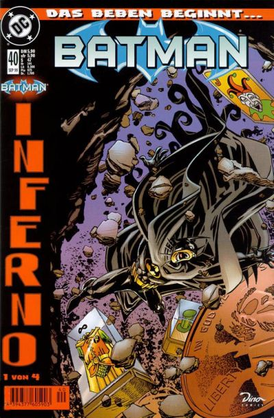 Cover for Batman (Dino Verlag, 1997 series) #40
