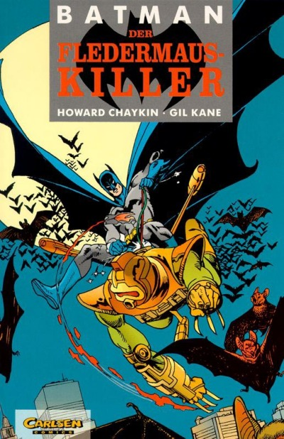 Cover for Batman (1989 series) #15 - Der Fledermauskiller
