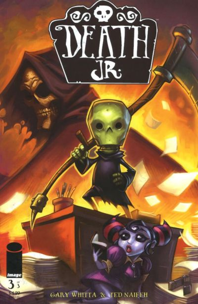 Cover for Death Jr. (Image, 2006 series) #3