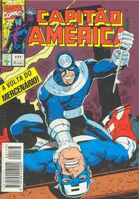 Cover Thumbnail for Capitão América (Editora Abril, 1979 series) #177
