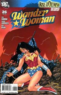 Cover Thumbnail for Wonder Woman (DC, 2006 series) #26