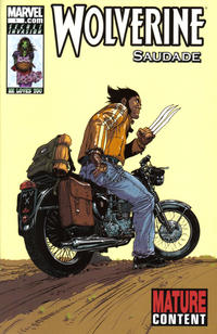 Cover Thumbnail for Wolverine: Saudade (Marvel, 2008 series) #1