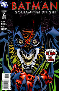 Cover Thumbnail for Batman: Gotham After Midnight (DC, 2008 series) #7