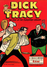 Cover Thumbnail for Dick Tracy The Case of the Purloined Sirloin (Harvey, 1958 series)
