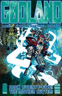 Cover Thumbnail for Godland (Image, 2005 series) #25