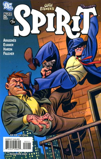Cover for The Spirit (DC, 2007 series) #22