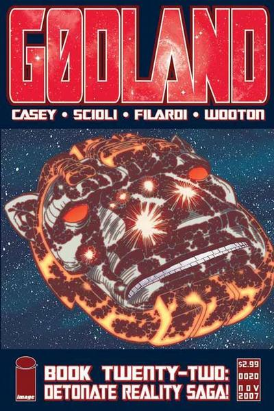 Cover for Godland (Image, 2005 series) #22