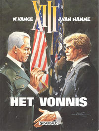 Cover Thumbnail for XIII (Dargaud Benelux, 1984 series) #12 - Het vonnis