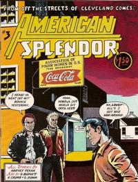 Cover Thumbnail for American Splendor (Harvey Pekar, 1976 series) #3