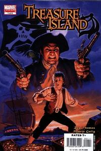 Cover for Marvel Illustrated: Treasure Island (2007 series) #1
