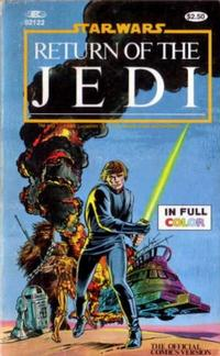 Cover Thumbnail for The Marvel Comics Illustrated Version of Star Wars Return of the Jedi (Marvel, 1983 series) #02122