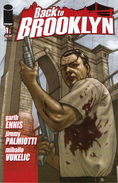 Cover for Back to Brooklyn (Image, 2008 series) #1 [Bob Cover]