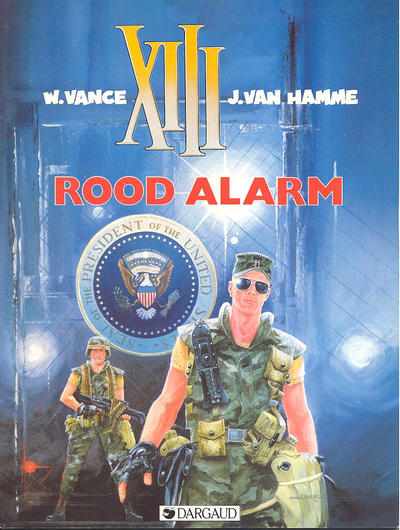 Cover for XIII (Dargaud Benelux, 1984 series) #5 - Rood alarm
