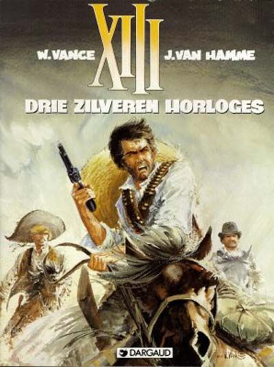Cover for XIII (Dargaud Benelux, 1984 series) #11 - Drie zilveren horloges