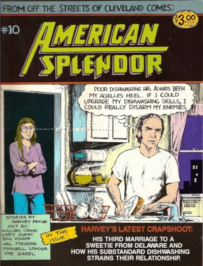 Cover for American Splendor (1976 series) #10