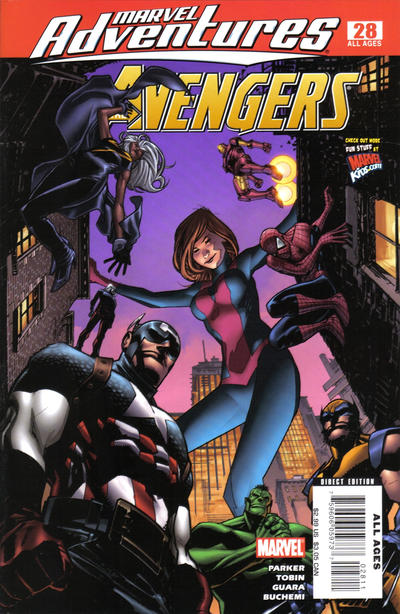 Cover for Marvel Adventures The Avengers (Marvel, 2006 series) #28