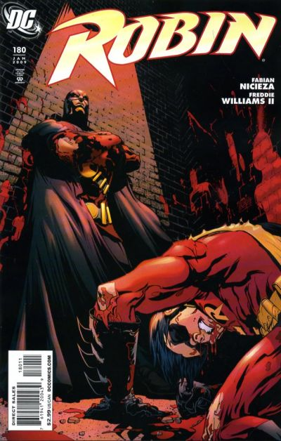 Cover for Robin (DC, 1993 series) #180