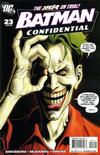 Cover for Batman Confidential (DC, 2007 series) #23