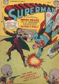Cover Thumbnail for Superman (Simcoe Publishing & Distribution, 1949 series) #62