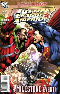 Cover Thumbnail for Justice League of America (DC, 2006 series) #27