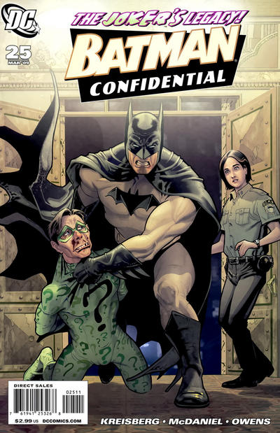 Cover for Batman Confidential (2007 series) #25