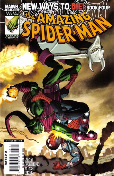 Cover for The Amazing Spider-Man (Marvel, 1999 series) #571