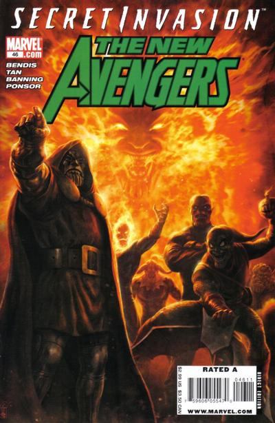 Cover for New Avengers (Marvel, 2005 series) #46