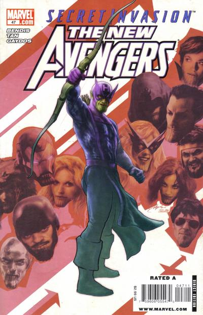 Cover for New Avengers (Marvel, 2005 series) #47