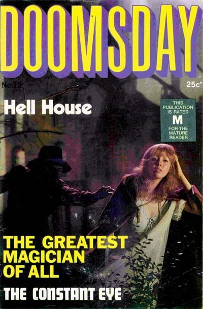 Cover for Doomsday (K. G. Murray, 1972 series) #12