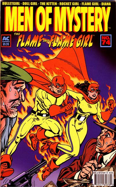 Cover for Men of Mystery Comics (AC, 1999 series) #74