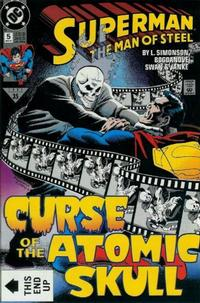 Cover Thumbnail for Superman: The Man of Steel (DC, 1991 series) #5