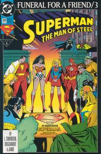 Cover Thumbnail for Superman: The Man of Steel (DC, 1991 series) #20