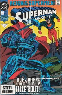 Cover Thumbnail for Superman: The Man of Steel (DC, 1991 series) #23